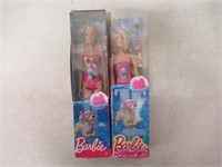 (2) Barbies DGT 78 & DWJ99
