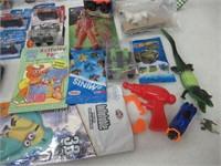 Lot of Children's Toys  Hot Wheels,  Spytech,