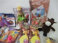 Box of Toys Fingerling, Barbie, Disney etc.