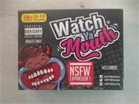 Watch Ya' Mouth NSFW (Adult) Expansion #1 Card
