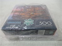 Lot of (2) Puzzles
