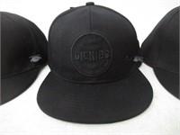 (3) Dickies Baseball Hat Black