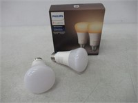 Philips 453092 Ambiance A19 2 Retail Hue White 60W