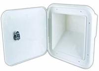 JR Products 31102-A Polar White Large Key Lock