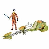 Star Wars R Ezra Bridger's Speeder Action Figure