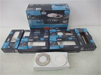 """Nadair 6 Pack LED 3"""" Ice Rated Dimmable Ultra Slim"""