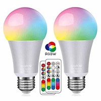 LED Color Changing Light Bulbs with Remote