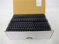 """Fellowes Plastic Binding Combs, Round Back, 5/8"""","""