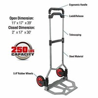 Pack-N-Roll 83-298-917 Folding Hand Truck Dolley,
