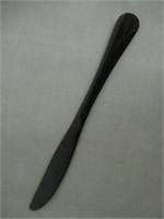 45-Pc Black Silverware Set Stainless Steel