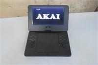 """As Is"" Akai AKPDVD901 9 Portable DVD Player -"