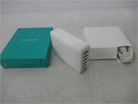60W 12A 6-Port USB Charger RAVPower Desktop
