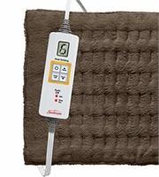 Sunbeam Xpress Heat Standard Heating Pad, Brown