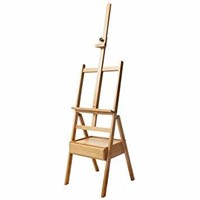 Mont Marte Signature Wooden Box Floor Easel, Holds