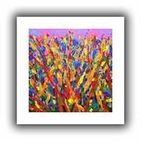 Artwall Growing Wild Gallery Wrapped Canvas Art by