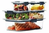 Rubbermaid Brilliance Food Storage Container,