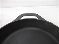 """As Is"" Pre Seasoned Cast Iron Skillet by Utopia"