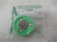 """As Is"" Green Biscuit Alien Original Training Puck"