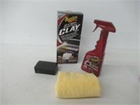Meguiar's Clay Bar Kit for Automotive Detailing -