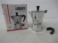 """""""As Is"""" Bialetti 6799 Moka Express 3-Cup Stovetop"""