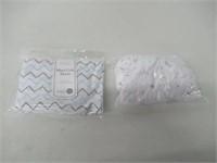 American Baby Company 2 Pack Printed 100% Natural