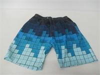 Men's 33-34 Printing Quick Dry Beach Board Shorts