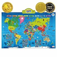 BEST LEARNING i-Poster My WORLD Interactive Map -