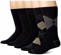 Dockers Men's 10-13 5 Pack Classics Dress Argyle