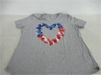 Just My Size Women's 3XL T-Shirt, Grey