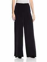 AGB Women's Petite/Large Petite Soft Knit Pant