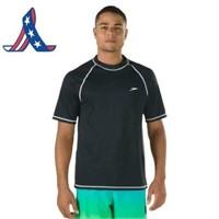 Speedo Men's 4XL UPF 50+ Easy Short Sleeve