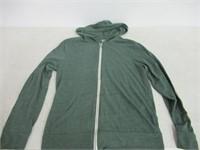 Alternative Men's Small Eco Zip Hoodie Sweatshirt,
