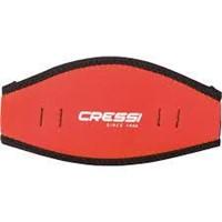 Cressi Neoprene Mask Strap Cover, red