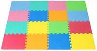 ProSource Puzzle set of Solid Foam Play Floor Mat