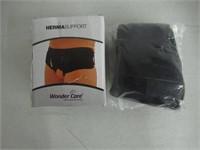 Wonder Care-Black Double/Single Inguinal Hernia
