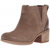 Clarks Women's Maypearl Daisy Ankle Boot, Olive, 9