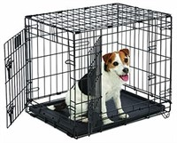 """Small Dog Crate MidWest Life Stages 24"""" Double"""