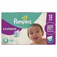 Pampers Diapers Size 6, Baby Dry Disposable Baby