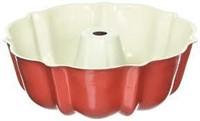 """As Is"" Nordic Ware 6-Cup Bundt Pan, Red"
