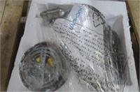Antioch 1-Light Globe Pendant, Brushed Nickel
