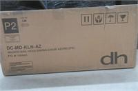 (2) DHI DC-MD-KLN-AZ Madrid Dining Chair, Azure