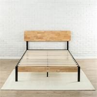 Zinus Tuscan Metal & Wood Platform Bed with Wood