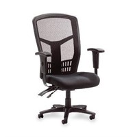 Lorell Executive High-Back Chair, Mesh