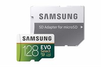 Samsung MicroSDXC EVO Select 128GB Memory Card