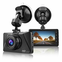 CHORTAU Dash Cam 1080P Full HD Car Camera DVR
