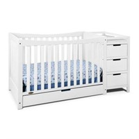 Graco Remi 4-in-1 Convertible Crib and Changer,