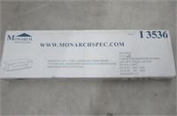 Monarch Specialties I 3536 High Glossy Black TV