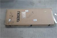 """Nexera 112043 Paisley TV Stand, 72"""", Natural Maple"""