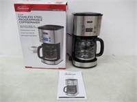 Sunbeam Programmable Coffeemaker Stainless Steel