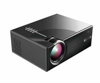 PRAVETTE Mini Portable Projector, 1080p HD